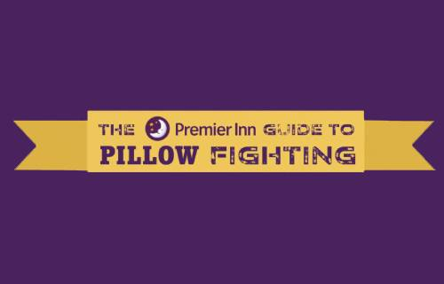Become a Pillow Fight Club champion with our new, best ever pillow