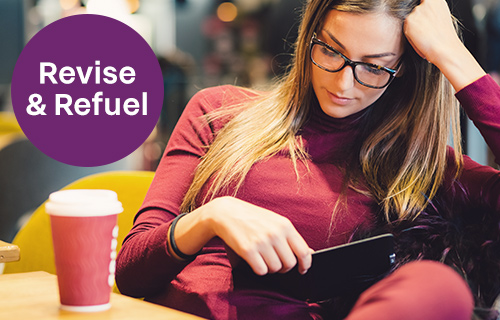 Students revise and refuel for exams at Premier Inn over Easter