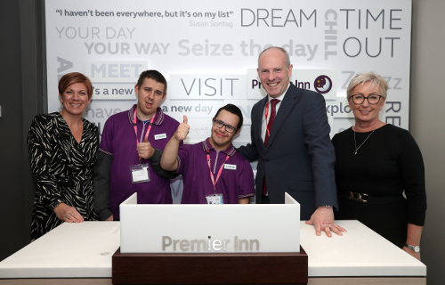 Disabled students offered careers at Premier Inn