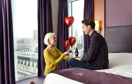 Premier Inn creates Proposal Package for this Leap Year