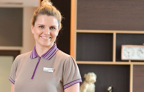 Weronika, Team Leader im Premier Inn Frankfurt Messe:
