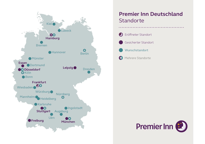 Premier Inn Wachst Auf 10 Hotels In Deutschland Premier Inn