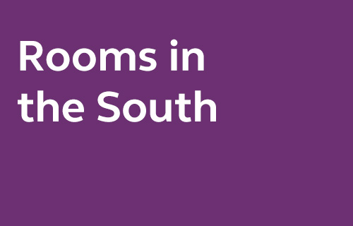 Selected rooms in the South