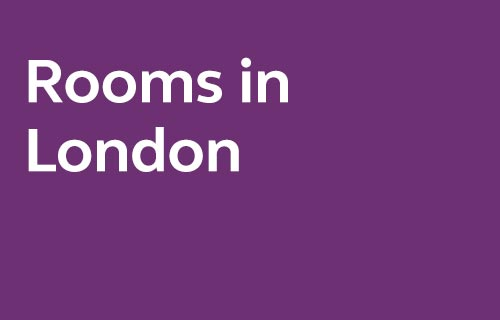 Selected rooms in London