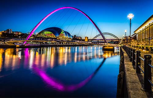 Getting around Gateshead