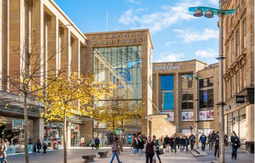 d03da710 Shopping in Glasgow | A local guide by Premier Inn