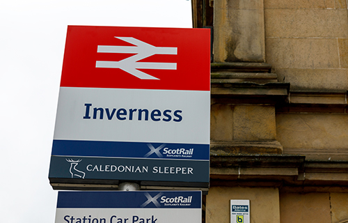 Inverness Railway Station