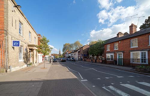 Shopping in Marlow