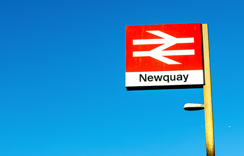 Newquay Train Station