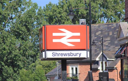 Shrewsbury Railway Station