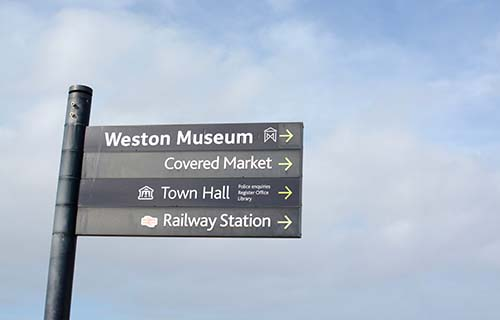 Getting around Weston-super-Mare
