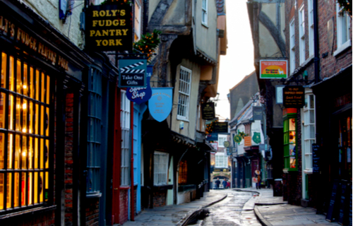 The Shambles shopping