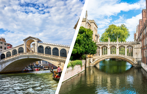 UK twins of the world's best landmarks