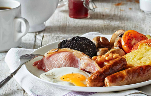 Premier Inn Breakfast Menu