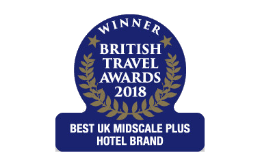 Best UK Midscale/Economy Hotel Brand, British Travel Awards 2018