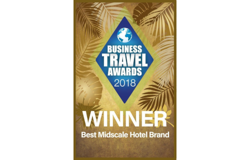 Best Midscale Hotel Brand, Business Travel Awards 2018