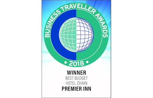 Best Budget Hotel Chain, Business Traveller Awards 2018