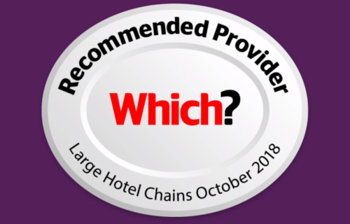 Top rated large hotel chain, Which? 2018