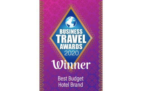 Best Budget Hotel Brand, Business Travel Awards 2020