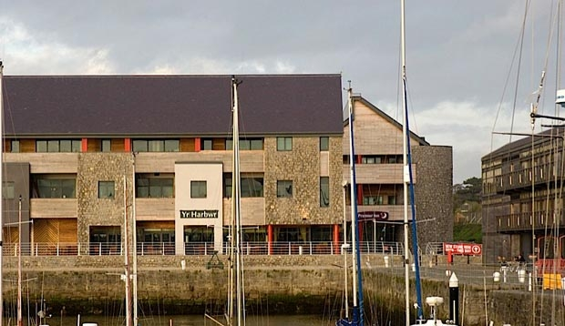Surrounding area at Premier Inn Hotel Caenarfon Victoria Dock