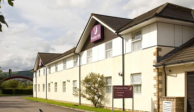 Outside of Premier Inn Caerphilly Crossways