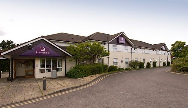 Front view of Premier Inn Caerphilly