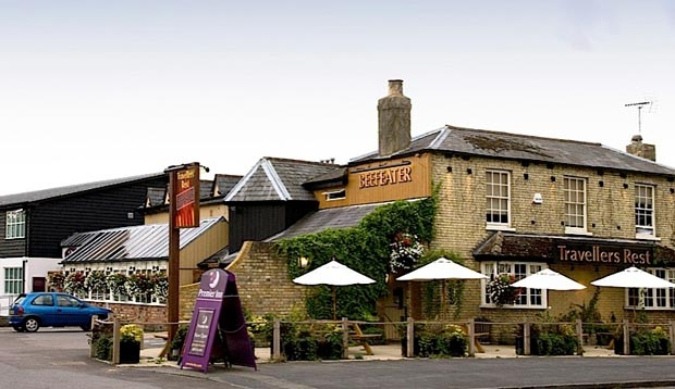 Exterior of Beefeater at Premier Inn Hotel Cambridge North (Girton)