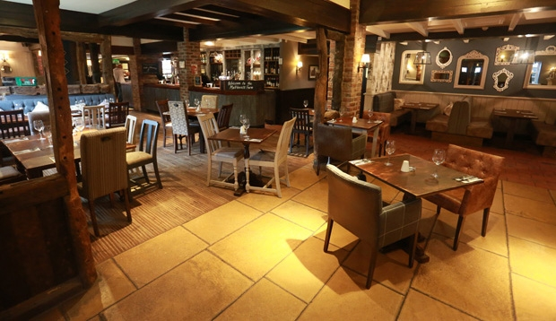 Restaurant and bar at Premier Inn Hotel Chorley North