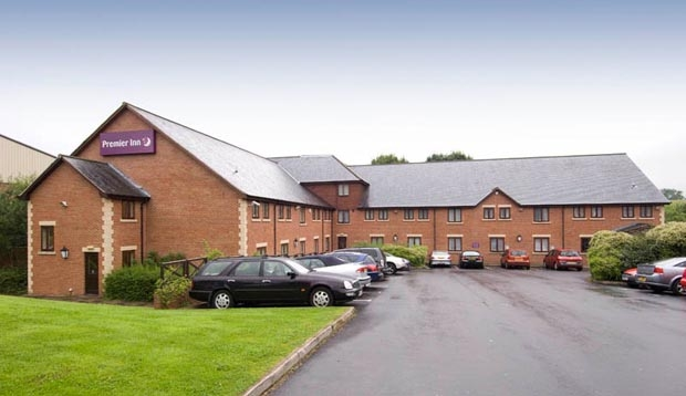 Exterior of Premier Inn Hotel Chorley North