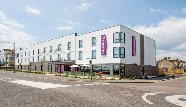Exterior of Premier Inn Clacton-On-Sea (Seafront)