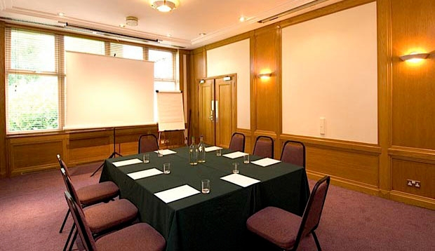 Meeting room at Premier Inn Cardiff North