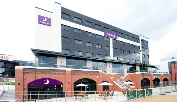 Exterior of Premier Inn Darlington Town Centre