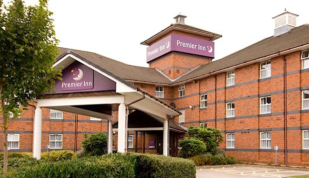 Exterior of Premier Inn Hotel Derby East