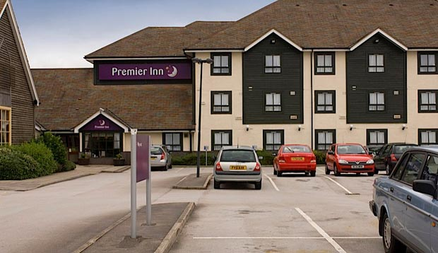 Exterior of Premier Inn Doncaster Lakeside
