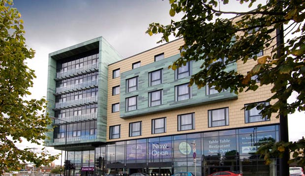 Exterior of Premier Inn Doncaster Central (High Fishergate)