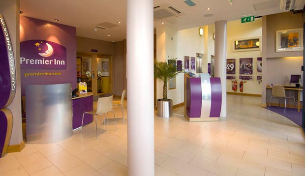 Reception at Premier Inn Doncaster Central (High Fishergate)
