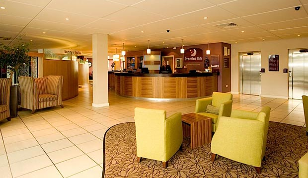 Reception at Premier Inn Dublin