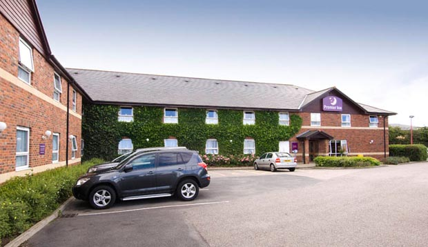 Car park at Premier Inn Durham North