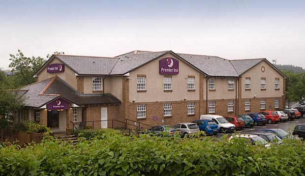 Exterior of Premier Inn Glasgow East Kilbride Central