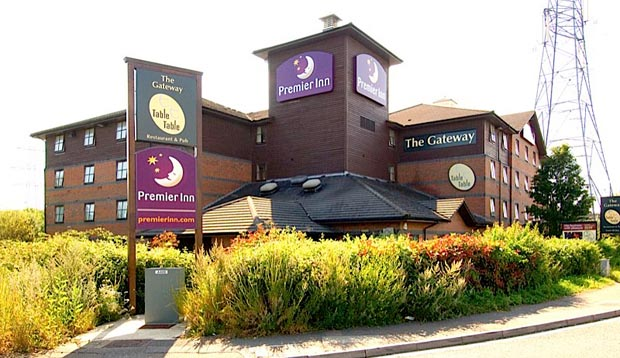 Exterior of Premier Inn Southampton (Eastleigh)