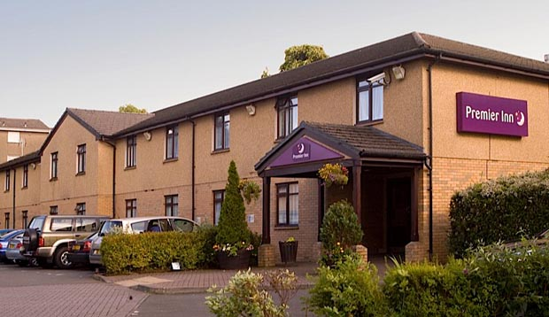 Exterior of Premier Inn Glasgow East Kilbride (Peel Park)