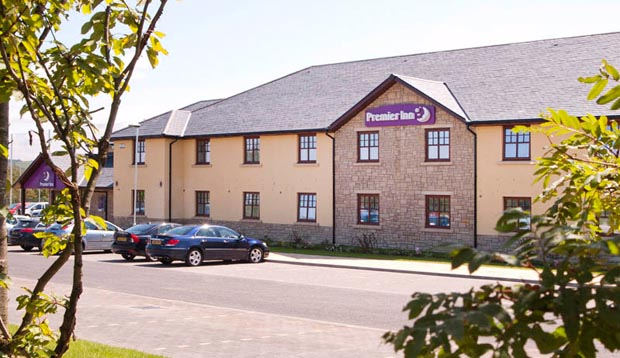 Exterior of Premier Inn Edinburgh A7 (Dalkeith)