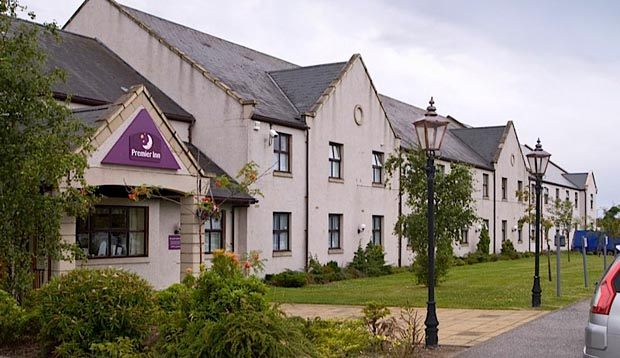Exterior of Premier Inn Elgin