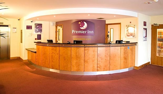 Reception at Premier Inn London Elstree / Borehamwood