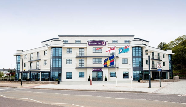 Exterior at Premier Inn Exmouth Seafront