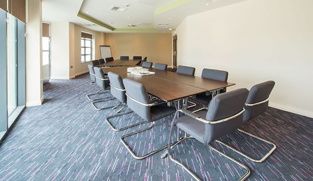 Meeting room at Premier Inn Exmouth Seafront