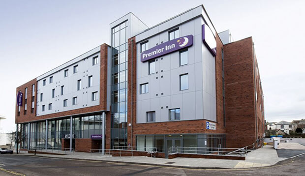 Exterior at Premier Inn Exeter City Centre