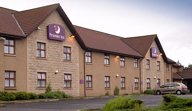 Exterior of Premier Inn Hotel Falkirk North