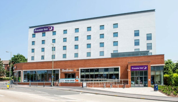 Exterior at Premier Inn Farnborough Town Centre hotel