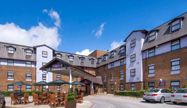 Exterior of Premier Inn London Gatwick Airport (A23 Airport Way)